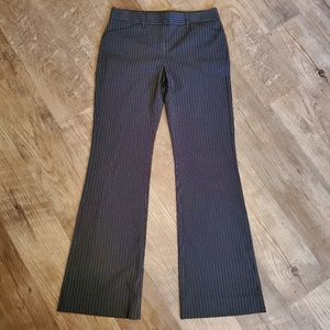 Express Design Studios slacks, pinstripe flared